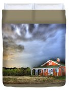 Plymouth Orchards Plymouth Mi  Duvet Cover