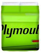 Plymouth Road Runner Duvet Cover