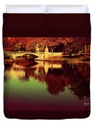 Pocket Of The City Duvet Cover by Dana DiPasquale
