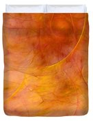 Poetic Emotions Abstract Expressionism Duvet Cover