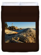 Point Atchison Lighthouse 1 Duvet Cover
