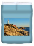 Point Atchison Lighthouse 2 Duvet Cover