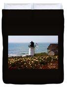 Point Montara Lighthouse Vista Duvet Cover