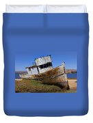 Point Reyes Beached Boat Duvet Cover