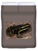 Poison Arrow Frog With Tadpoles Duvet Cover