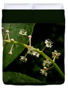 Poke Sallet Flowers Duvet Cover