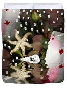 Poker Pop Art All In Duvet Cover by Pepita Selles