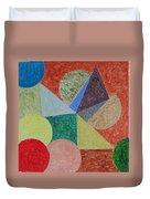 Polychrome Duvet Cover