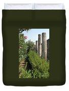 Pompeii Columns 2 Duvet Cover