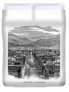 Pompeii: Ruins, C1880 Duvet Cover