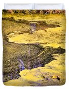 Pond Scum One Duvet Cover
