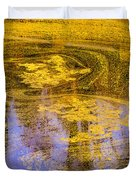 Pond Scum Two Duvet Cover
