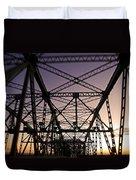 Pont Champlain - Montreal Duvet Cover