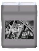 Pont Lafayette Paris Duvet Cover