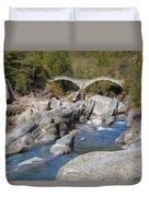 Ponte Dei Salti - Lavertezzo Duvet Cover