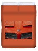 Pontiac Firebird Grille Duvet Cover