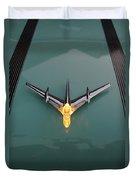 Pontiac Hood Ornament Lit Duvet Cover