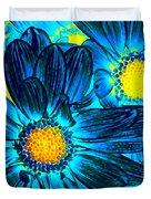 Pop Art Daisies 7 Duvet Cover