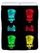 Pop Nefertiti Duvet Cover