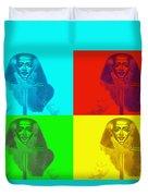Pop Pharaoh Duvet Cover