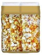 Pop Corn  Duvet Cover