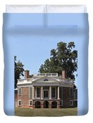 Poplar Forest From The Lawn Duvet Cover