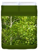 Poplar Tree And Leaves No.368 Duvet Cover
