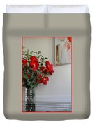 Poppies In Oil Duvet Cover