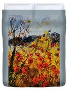 Poppies In Provence 456321 Duvet Cover