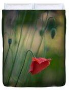 Poppies Mood Duvet Cover