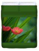 Poppies Vibrance Duvet Cover