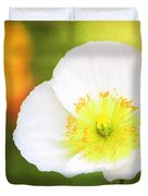 Poppy Of Peace Duvet Cover