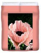 Poppy Pink Duvet Cover