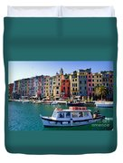 Porto Venere Duvet Cover