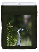 Portrait Of A Heron Duvet Cover