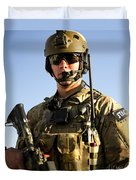 Portrait Of A U.s. Air Force Joint Duvet Cover