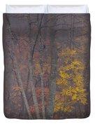 Portrait Of Autumn Duvet Cover