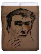 Portrait Of Frank Frazetta Duvet Cover