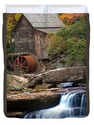 Portrait Of Glade Creek Mill Duvet Cover