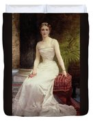 Portrait Of Madame Olry-roederer Duvet Cover by William-Adolphe Bouguereau