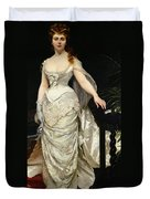 Portrait Of Mademoiselle X Duvet Cover