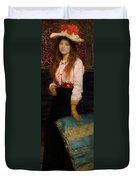 Portrait Of Miss Macwirter Duvet Cover