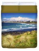 Portrush, Co Antrim, Ireland Seaside Duvet Cover