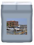 Portsmouth Waterfront Pwp Duvet Cover