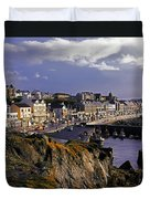 Portstewart, Co Derry, Ireland Seaside Duvet Cover