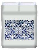 Portuguese Azulejo Duvet Cover