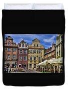 Posnan Shops - Poland Duvet Cover