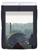 Potteries Urban Landscape Duvet Cover