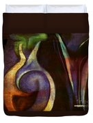 Pottery Of Time Duvet Cover