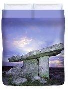 Poulnabrone Dolmen, The Burren, Co Duvet Cover